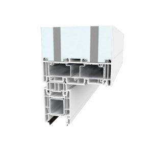 ProfileTec Hebe-Schiebe-Tür oben